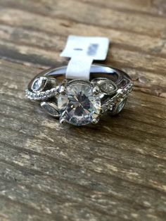 A Perfect 2 9ct Round Cut Russian Lab Diamond Fl Antique Setting Engagement Ring Boho
