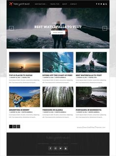 Halcyon is a responsive #WordPress #travel #blogs theme designed to meet the needs of all types of bloggers with 4 unique homepage layouts download now➩ https://themeforest.net/item/halcyon-a-multipurpose-wordpress-blog-theme/17869112?ref=Datasata