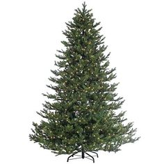 Sterling 7-1/2' Rockford Pine Lighted Christmas Tree