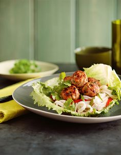 Have a ball with our Asian-style pork meatballs Pork Sausage Recipes, Pork Meatballs, Asian Style, Main Meals, Chinese Food, Noodles, Connect, Bacon, Menu