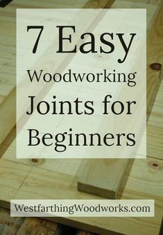 How to make easy joints between pieces of wood using common and easy to learn me. - How to make easy joints between pieces of wood using common and easy to learn methods. Used Woodworking Tools, Beginner Woodworking Projects, Woodworking Joints, Woodworking Patterns, Popular Woodworking, Woodworking Crafts, Woodworking Plans, Woodworking Furniture, Woodworking Jigsaw