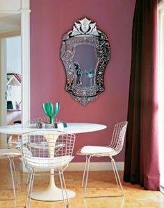 Espelho veneziano na decoração
