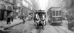 The Last of the Horse Trollies – 1917 New York City