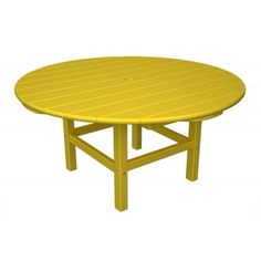 """POLYWOOD™ Round 38"""" Conversation Table"""