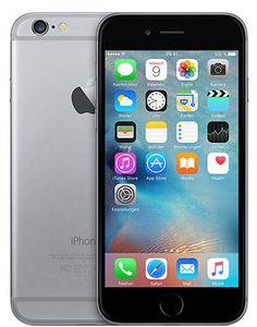 Apple iPhone 6 refurbished 16GB Smartphone Spacegrau - Ohne Simlocksparen25.com , sparen25.de , sparen25.info