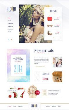 Website design: Best of 2014 on Behance