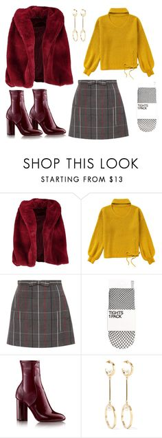 """ulzzang winter?"" by syakilla-putri-aulia on Polyvore featuring Boohoo, Miu Miu and Chloé"