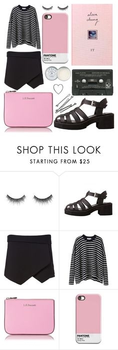 """""""14"""" by annaito ❤ liked on Polyvore featuring shu uemura, Lily Black, Zara, Comme Comme, BOBBY, L.K.Bennett and Jack Wills"""