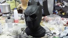 Batman mask pizzolittofxstudios