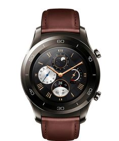 Huawei Watch 2 Classic – Titanium Grey with Black Hybrid Strap - Android Wear (US Warranty) Huawei Watch 2 smartwatch integrates cutting-edge technology with the look of a Classic sports Watch. Designed to work in harmony with your smartphone or In Huawei Watch, Casio Watch, Watch 2, Smart Watch, Fall Flats, Android Wear, Watch Display, Cool Things To Buy, Stuff To Buy