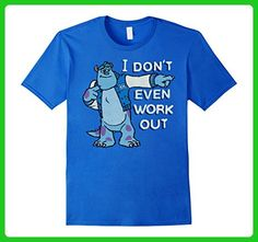 Mens Disney Monsters Inc. Sulley Work Out Graphic T-Shirt Medium Royal Blue - Workout shirts (*Amazon Partner-Link)
