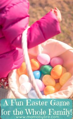 This year get the entire family involved in the Easter Egg Hunts! This Easter Game for the whole family is so much fun!!