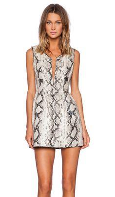 ELLIATT Digital Dress in Monochrome