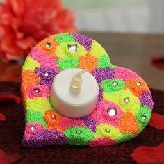 Eine tolle und preiswerte Bastelidee für den Kindergarten. Wir basteln ein schönes Muttertagsgeschenk. ♥ Ein tolles Herz! Mit Video ▶ http://www.trendmarkt24.de/bastelideen.muttertagsgeschenke-kindergarten.html#p