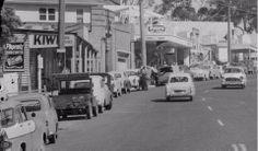 Upwey, Main Street, early 1960s.
