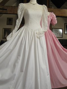 Laura Ashley Vintage Victorian Style Cotton By Vintagelauraashley 145 00 Wedding Dressesvintage