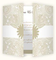 Faire part mariage Spirales│Mariages-cards.com