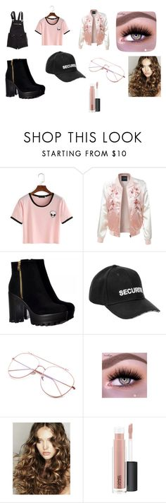 """Ariana Grande concert outfit!"" by isabellacasas on Polyvore featuring H&M, LE3NO, Vetements and MAC Cosmetics"