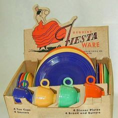 Fiesta - wouldn't be awesome to locate a set like this!
