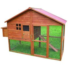 Heidi Wooden Chicken Coop and Run – Next Day Delivery Heidi Wooden Chicken Coop and Run