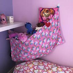 Items similar to Stuffed Animal Hammock - Large on Etsy Stuffed Animal Net, Stuffed Animal Hammock, Large Stuffed Animals, Toddler Bed, Rest, Corner, Design Inspiration, Flooring, Collections