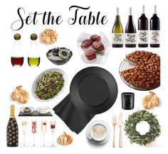 """""""Set The Table"""" by iii-i-mcmxcv ❤ liked on Polyvore featuring interior, interiors, interior design, home, home decor, interior decorating, LSA International, Marc Jacobs, Sagaform and The Just Slate Company"""