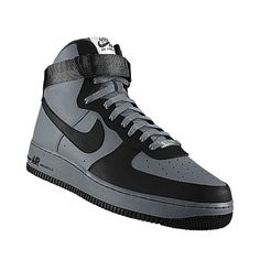 best service 7a99d 322b3 gray and black air force ones Air Force 1 High, Air Force Ones, Nike