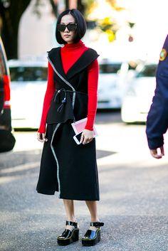 Milan Fashion Week Street Style   СПЛЕТНИК