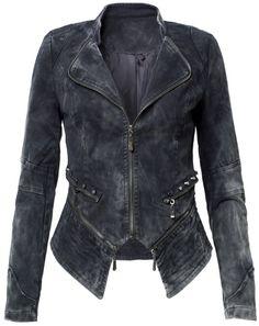 Black Denim Zipper Jacket €59,95