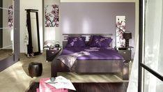 Purple Japanese Bedroom Design Ideas
