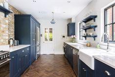 11 Beautiful Galley Kitchen Design Ideas | Fifi McGee | Interior Blogger, UK
