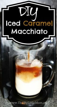 Here's a copycat recipe for Starbucks' caramel macchiato. Save some money and get some coffee goodness.