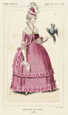Costume Plate (Costume de Cour) | LACMA Collections