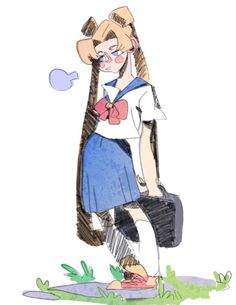 Haven't drawn in awhile and Sailor moon is always nice to draw UGH THIS HEAT IS TERRIBLE!