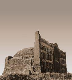Palace of Taq-i Kisra  aka Arch of Ctesiphon, 540 AD Al-Mada'in