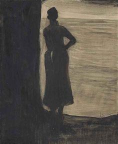 Léon Spilliaert,  Attente 1902