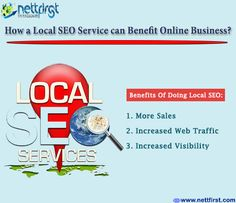 How a local SEO service can benefit online business? #Google always love the local results. In the local searches the Google automatically returns the results based on the user's location. Practically any business can take advantage of local SEO's benefits. http://www.nettfirst.com/best-seo-company-in-india/