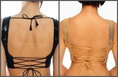 Backless Saree Blouse Ideas, Click through for More >>