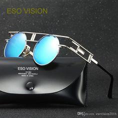 b9cd2100ab Fashion Sunglasses For Man Designer Sunglasses For Mens Polarize Metal  Driving Glasses Vintage Round Sunglasses Hot