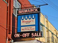 Hamm's Advertising Sign
