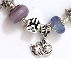 "Wholesale Lots European Charm Beads Barrel  /""DOG MOM/"" Carved Message"