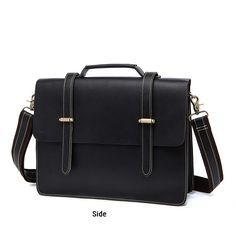1d3f1c452f Real Messenger Bag Handcrafted Genuine Leather Satchel Shoulder Briefcase  FS2120 Men s Briefcase