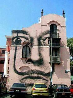 Arte callejero. pic.twitter.com/Cy4KvCI4ET