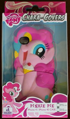 My Little Pony iPhone 4 or 4S Chara Covers Phone Case Pinkie Pie Licensed