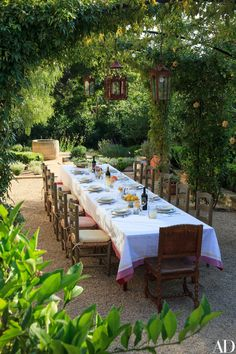 Beautiful Outdoor Dining : Savage Life Skills: Faith + Business and Vintage Skills : Marc Appleton Creates a Rustic, Mediterranean-Inspired Garden Photos