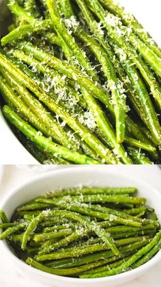 Side dish recipes 375135843963091476 - These oven baked green beans with parmesan cheese are simple to prepare and ready in under 30 minutes. Perfect for a healthy side dish or a light meal. Source by cookinglsl Side Dishes For Chicken, Dinner Side Dishes, Veggie Side Dishes, Healthy Side Dishes, Vegetable Sides, Side Dishes Easy, Side Dish Recipes, Food Dishes, Side Dishes For Scallops