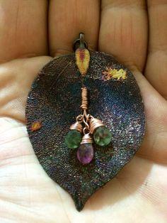Gerçek yaprak, turmalin doğal taş
