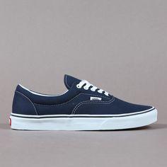 Vans Canvas Era Navy Blue ($45)