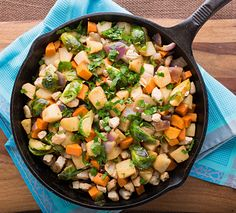 Turkey, Sweet Potato, and Pear Skillet - leave out the pear for Phase 3