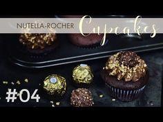 Nutella und Rochers von Ferrero sind einfach so lecker, dass wir sie zusammen verarbeiten mussten. Heute gibts daher Cupcakes, die beides beinhalten. Viel Spaß :-)